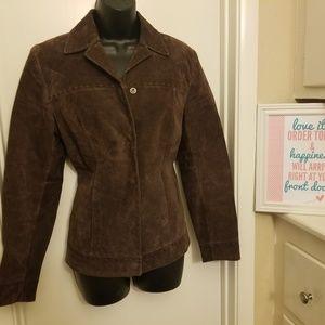 Caslon light Brown Suede jacket